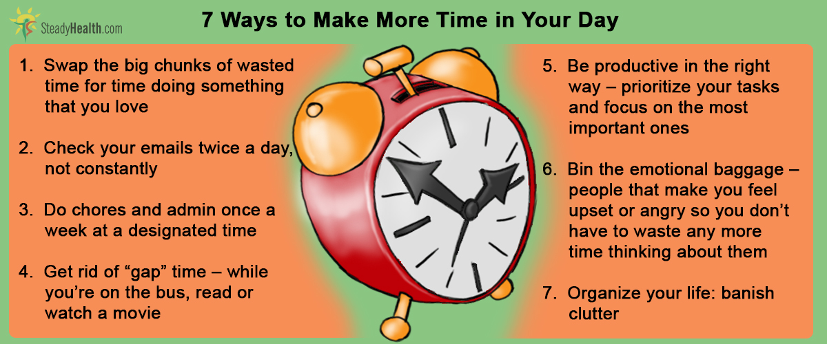 Image result for How to Make More Time in Your Day
