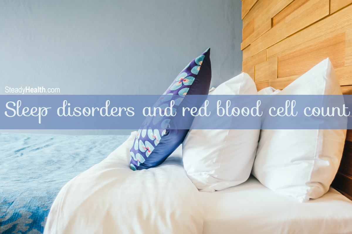 Sleep Disorders and Red Blood Cell Count: High Hemoglobin