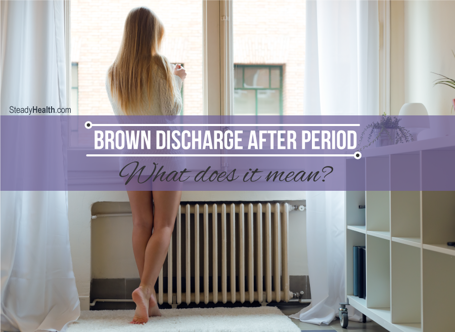 how to stop discharge after period