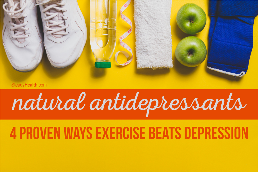 Natural Cures For Depression And Anxiety Exercise
