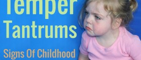Temper Tantrums And Anger In Children: Signs Of Childhood Anxiety Disorders?