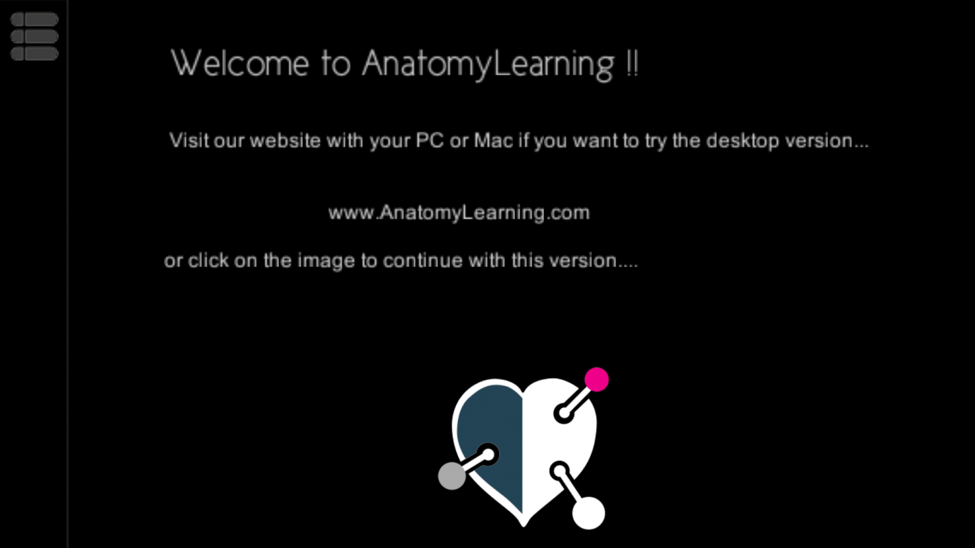 Anatomy Learning 3d Atlas App A Medical Application Displaying The