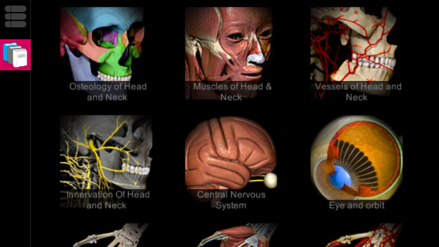 Anatomy Learning 3D Atlas App - A Medical Application Displaying The ...