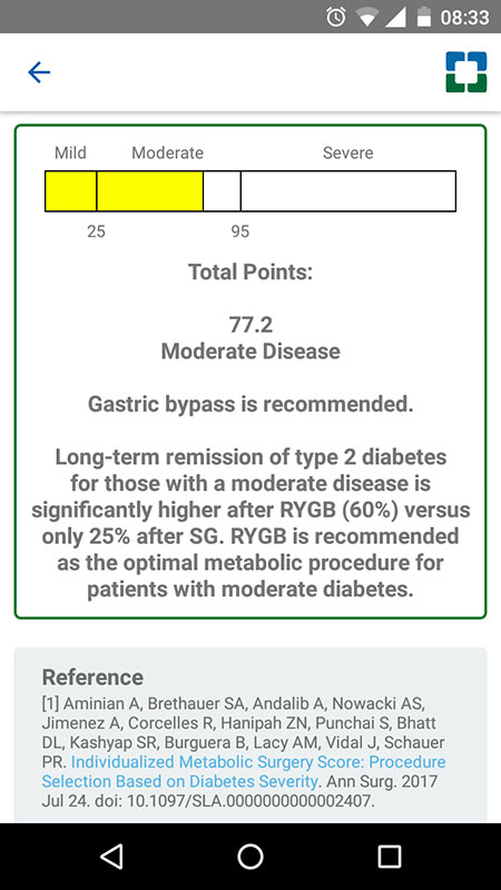 Bariatric Surgery Calculator App Assessing A Patient S Risk And
