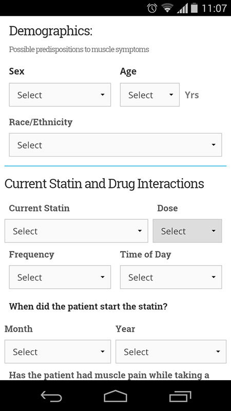 Statin Intolerance App Free Tool That Helps Clinicians