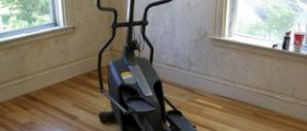 Burn the fat with an elliptical trainer