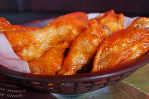 Chicken wings calories