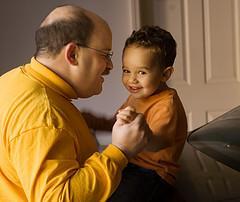 Fatherhood can transform bad behaviour
