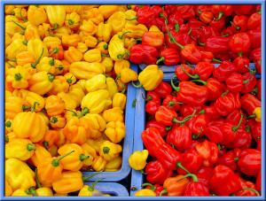 Health benefits of red peppers
