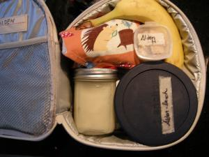 Healthy packed lunches for children