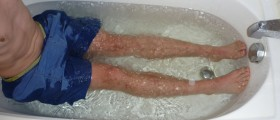 Ice Baths Have No Effect On Relieving Muscle Soreness