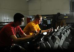 Physical fitness and breathing
