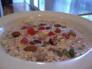 Recipe for healthy muesli