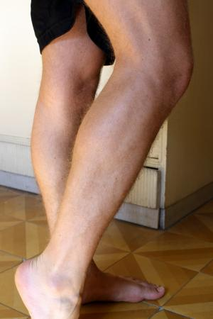 Throbbing leg pain