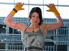 Women with muscles