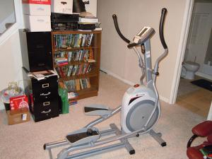 Working out with low-impact elliptical exercise machines